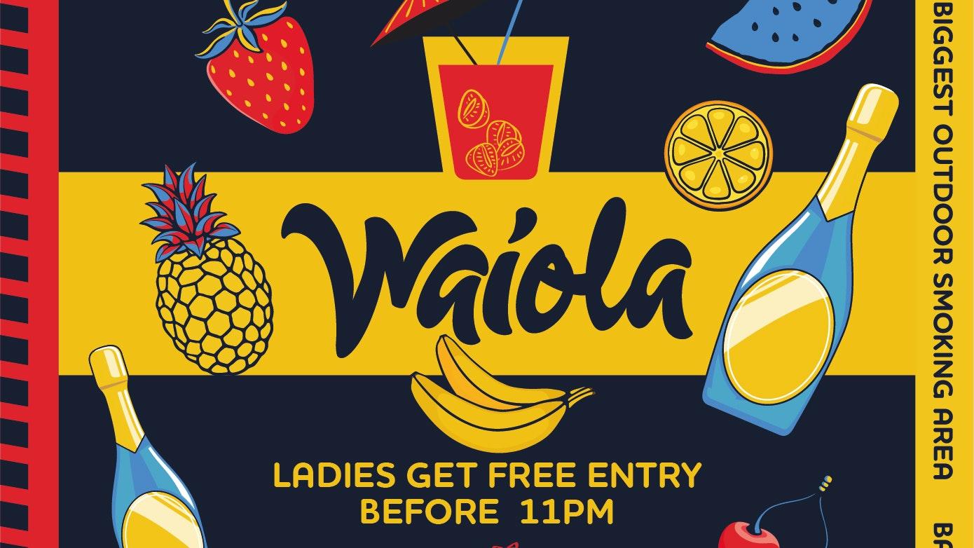 Waiola – Friday 15th October