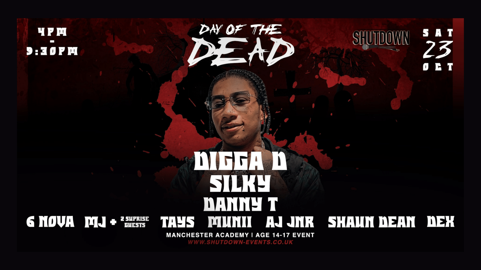 Shutdown Manchester – Day Of The Dead