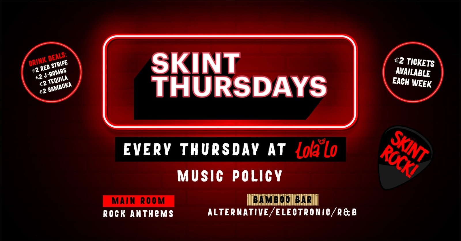 Skint Thursday – Thursday 21th October