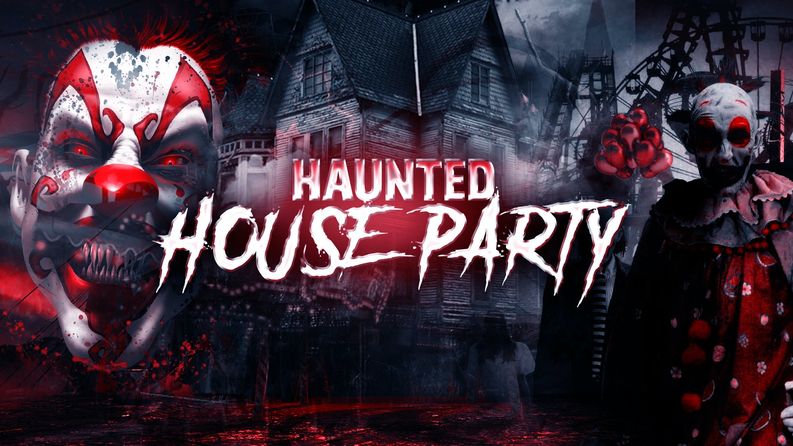 The Haunted House Party | Sheffield Halloween 2021 – First 300 Tickets £1!