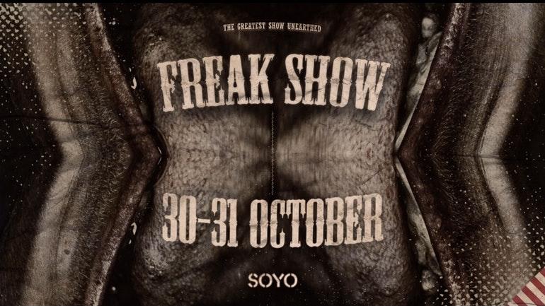 Freak Show – A Sunday Special
