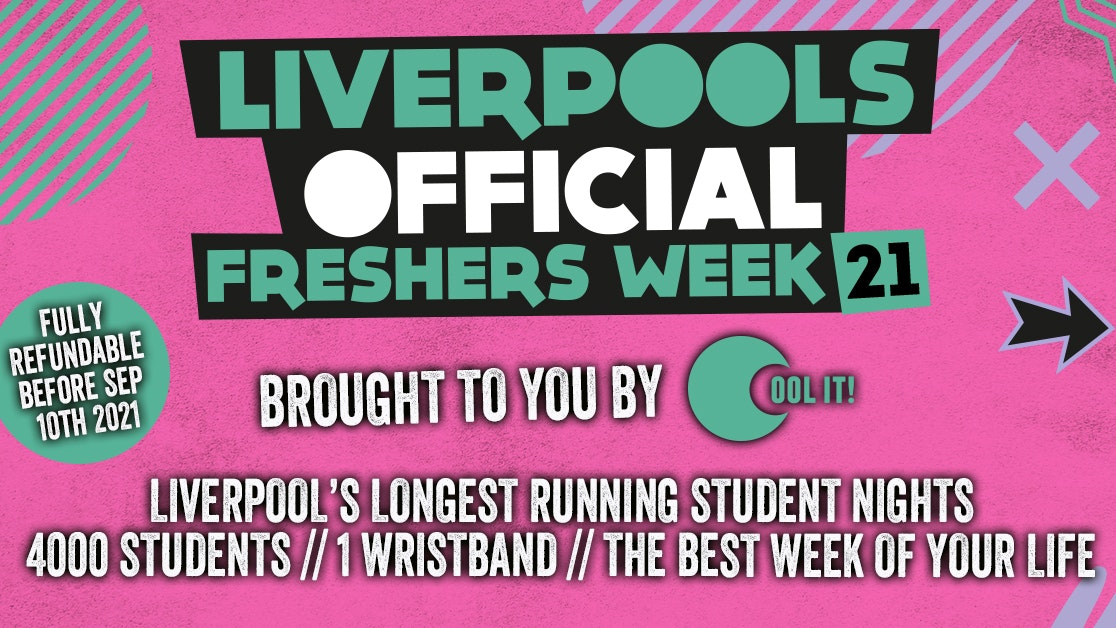 Liverpool Official Freshers 2021