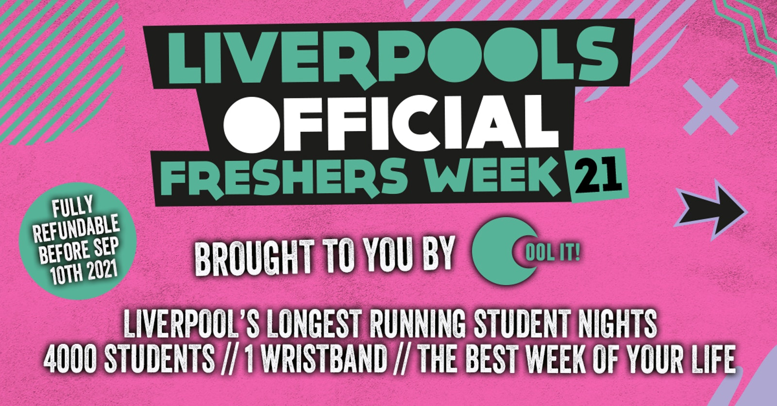 Liverpool's Official Freshers 2021