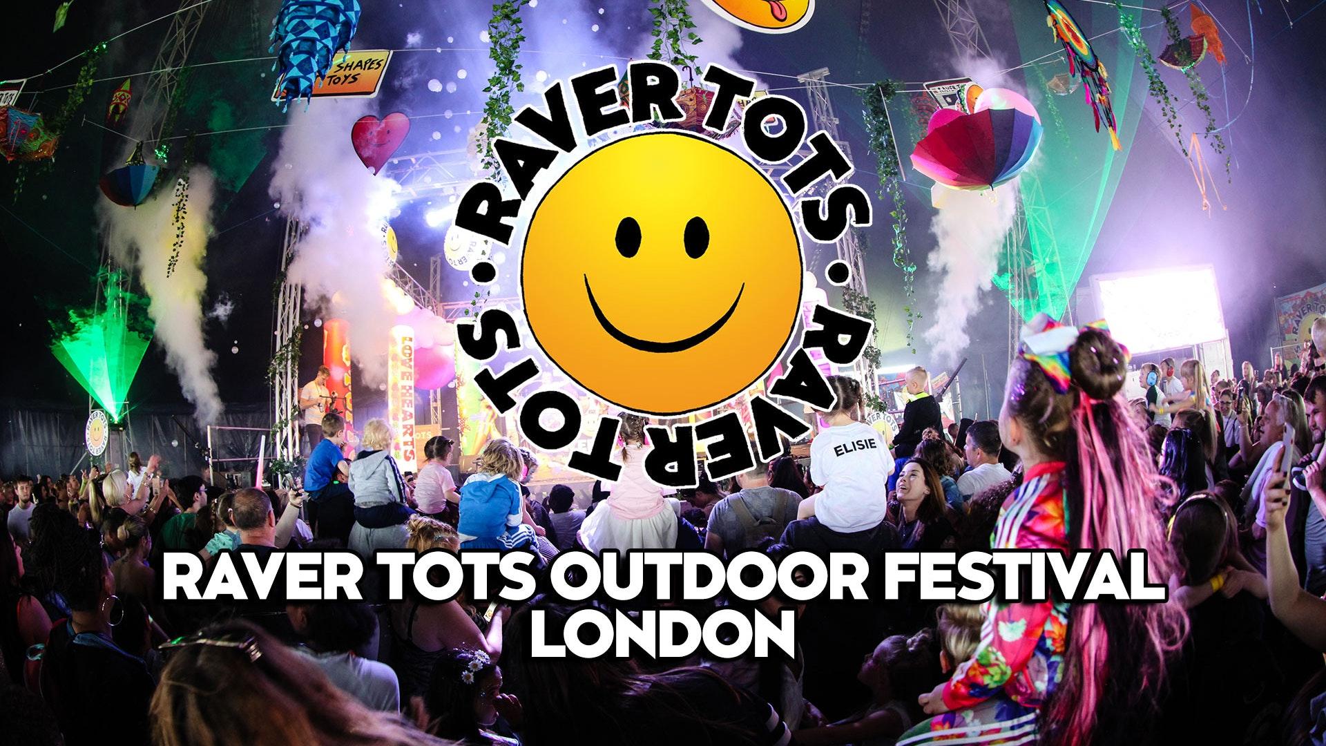 Raver Tots Outdoor Festival London 2021