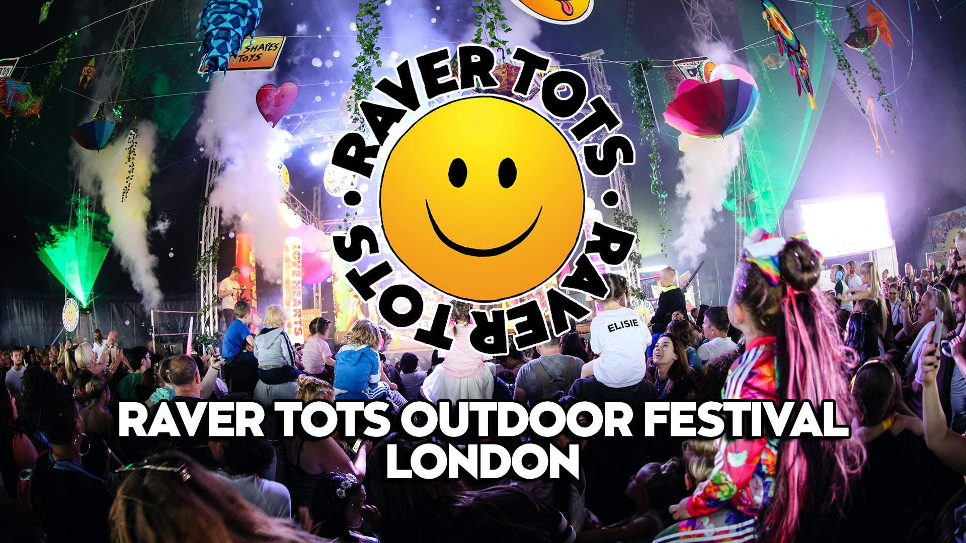 Raver Tots Outdoor Festival London 2021