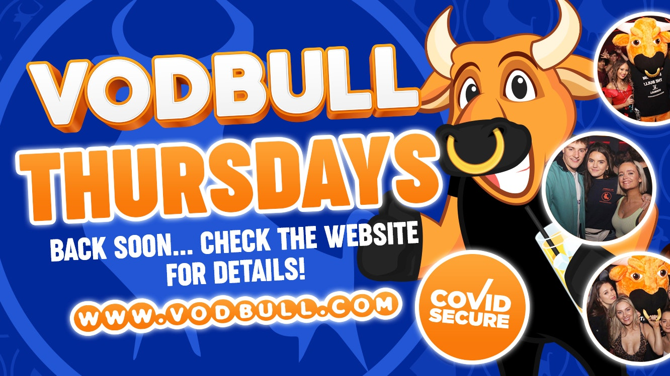 Keep your eyes peeled! Vodbull will be back soon!