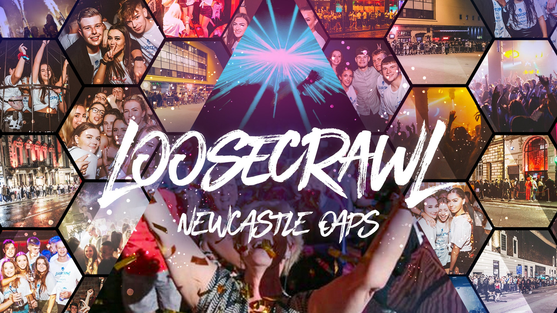 THE OAP LOOSECRAWL 👵🏼   NEWCASTLE UNIVERSITY