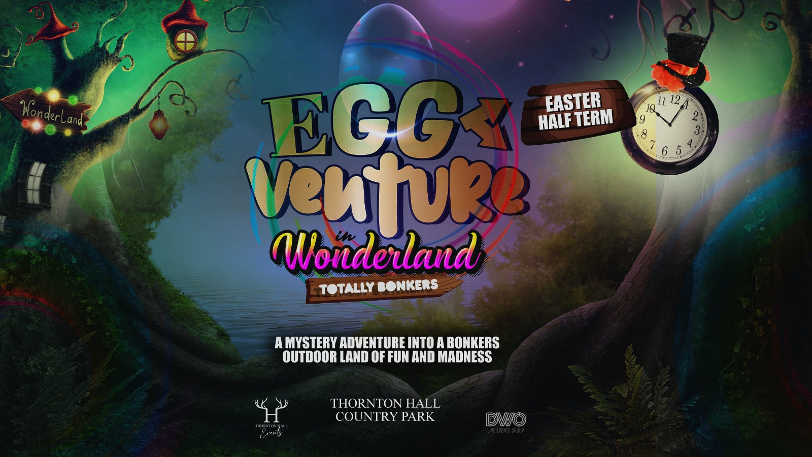 EggVenture in Wonderland – Monday 29th March – 12noon