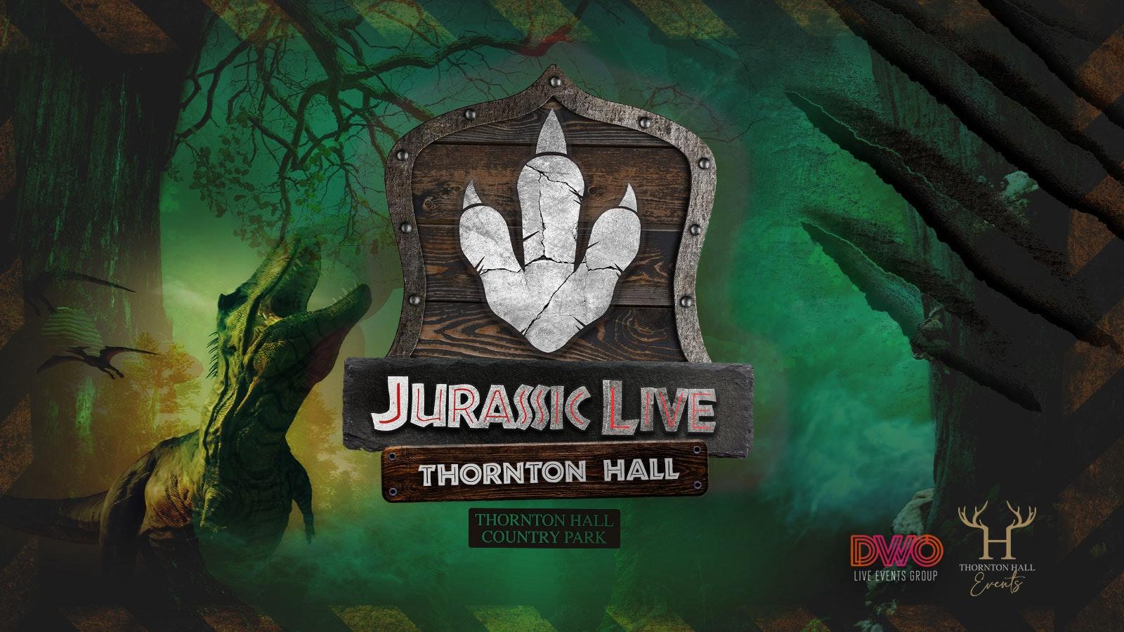 Jurassic Live – Saturday 10th April – 4pm