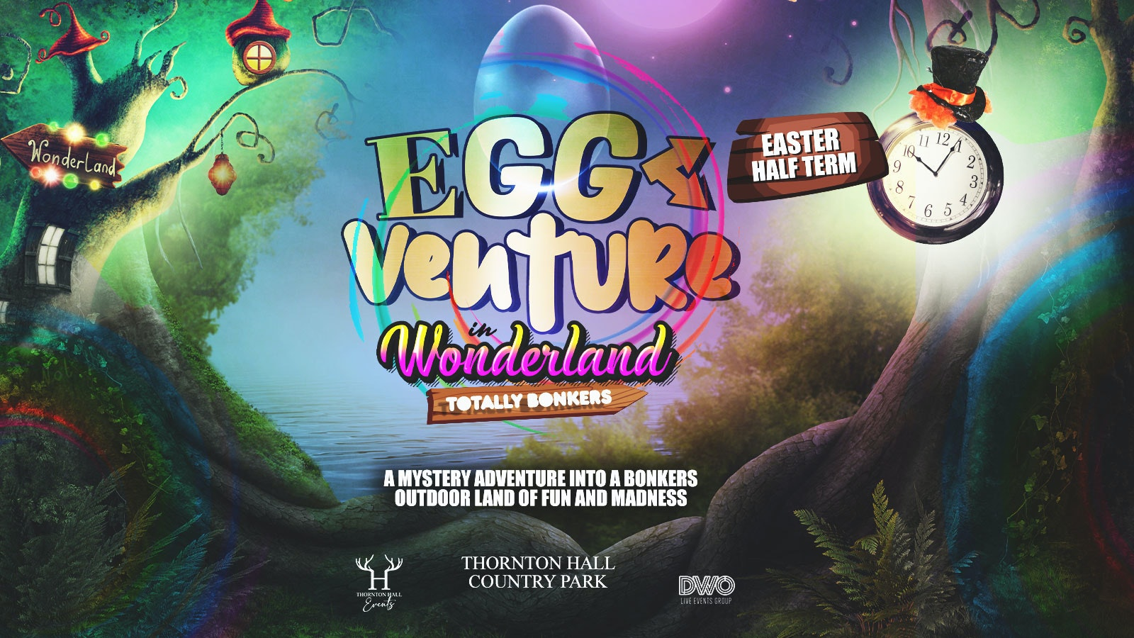 EggVenture in Wonderland –  Sunday 11th April – 12.30pm
