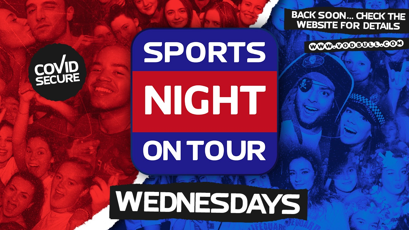 85% SOLD OUT!!! ☆ Sports Night On Tour IS Back at The Nightingale ☆