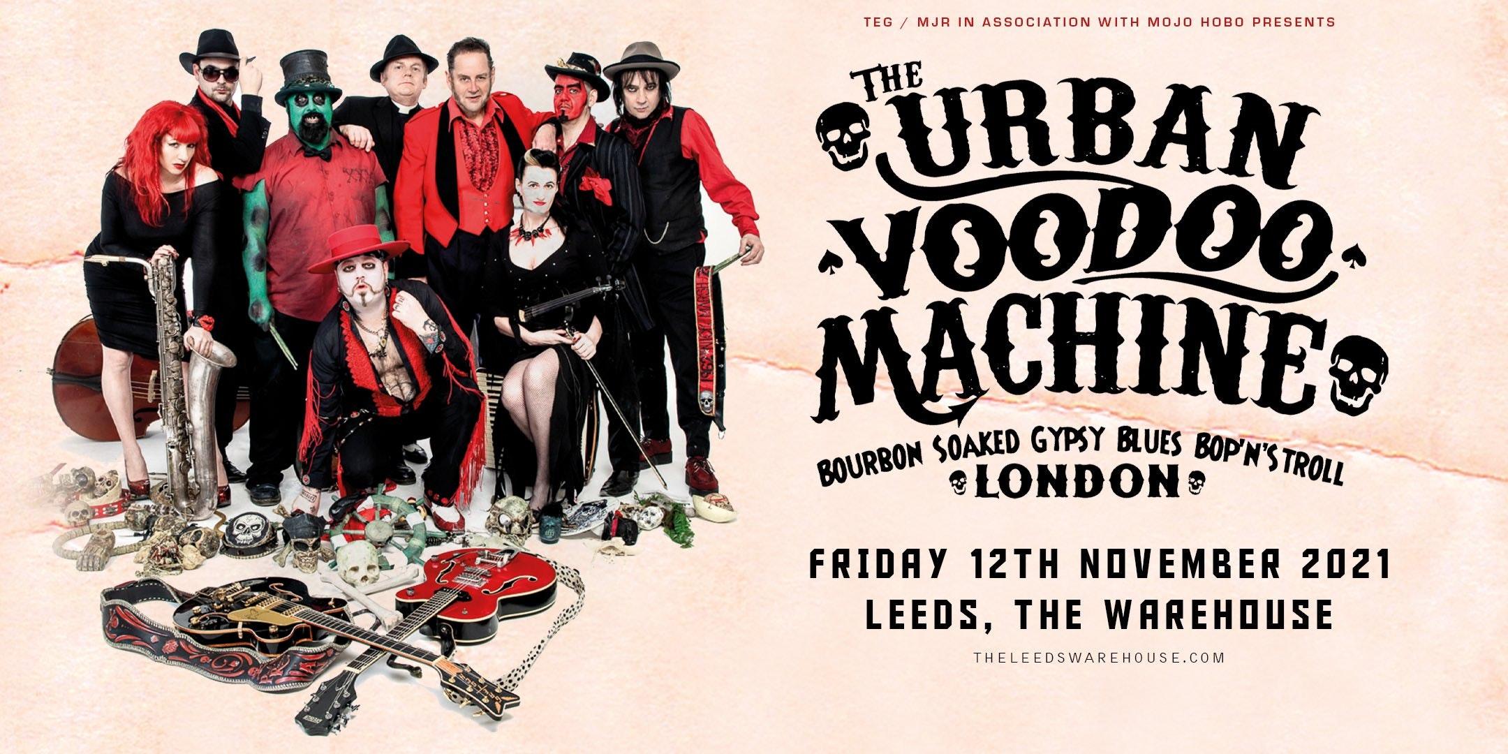 The Urban Voodoo Machine – LIVE