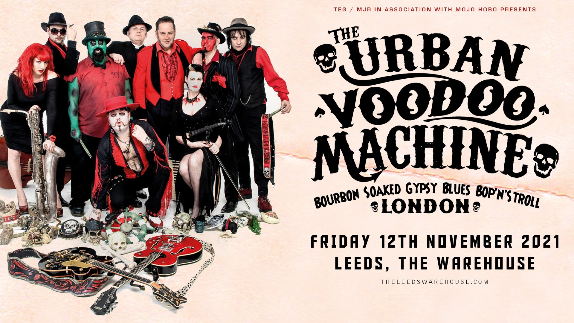 The Urban Voodoo Machine – LIVE