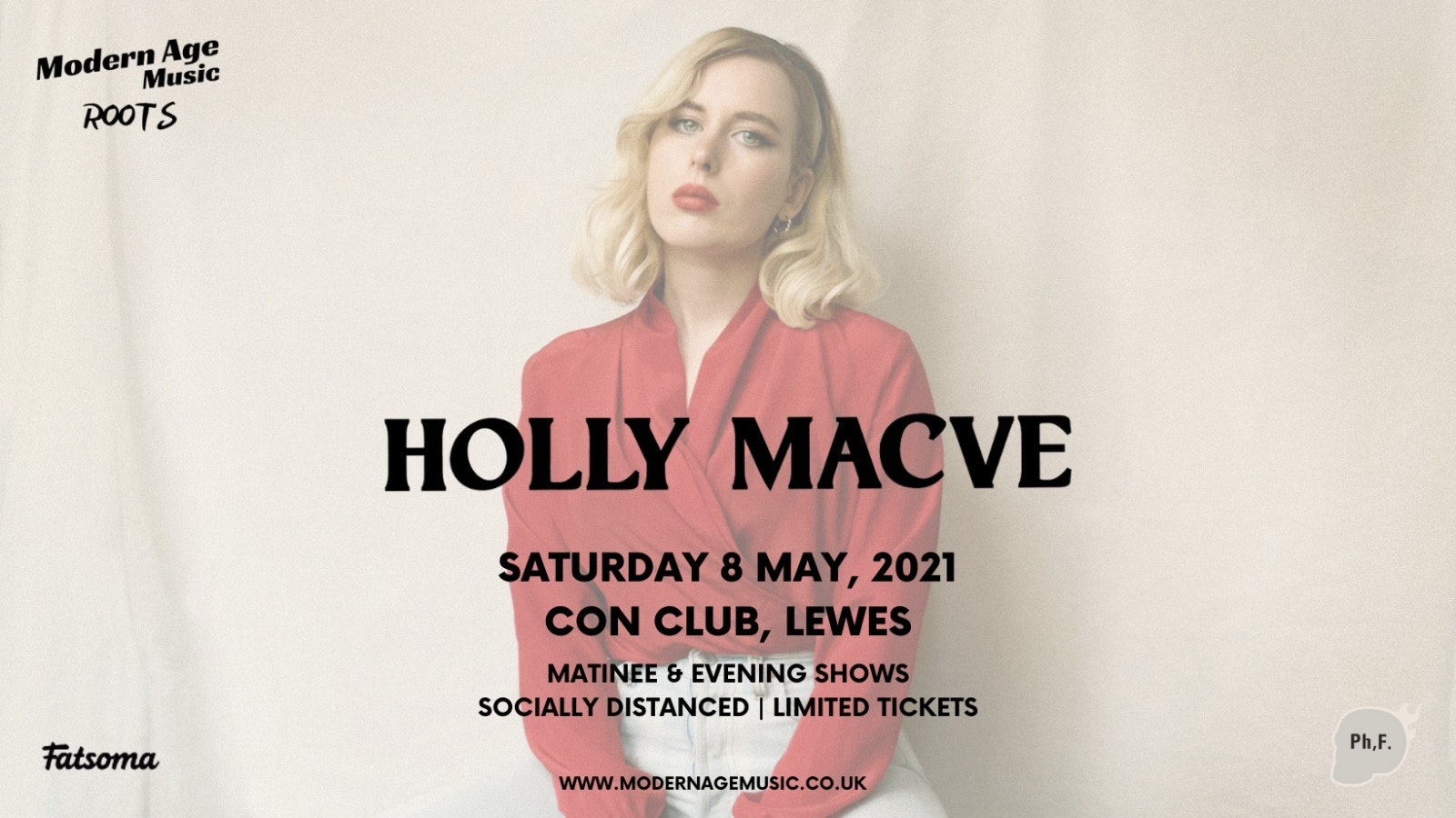 Holly Macve live at Lewes Con Club – Evening