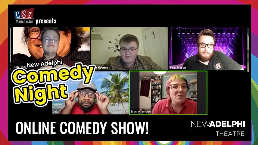 New Adelphi Comedy Night – VIRTUAL SHOW