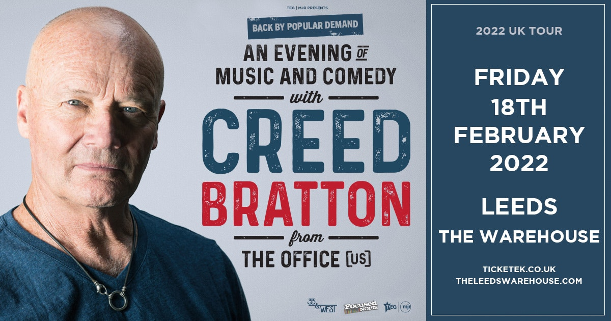 Creed Bratton from The Office US – An Evening of Music and Comedy