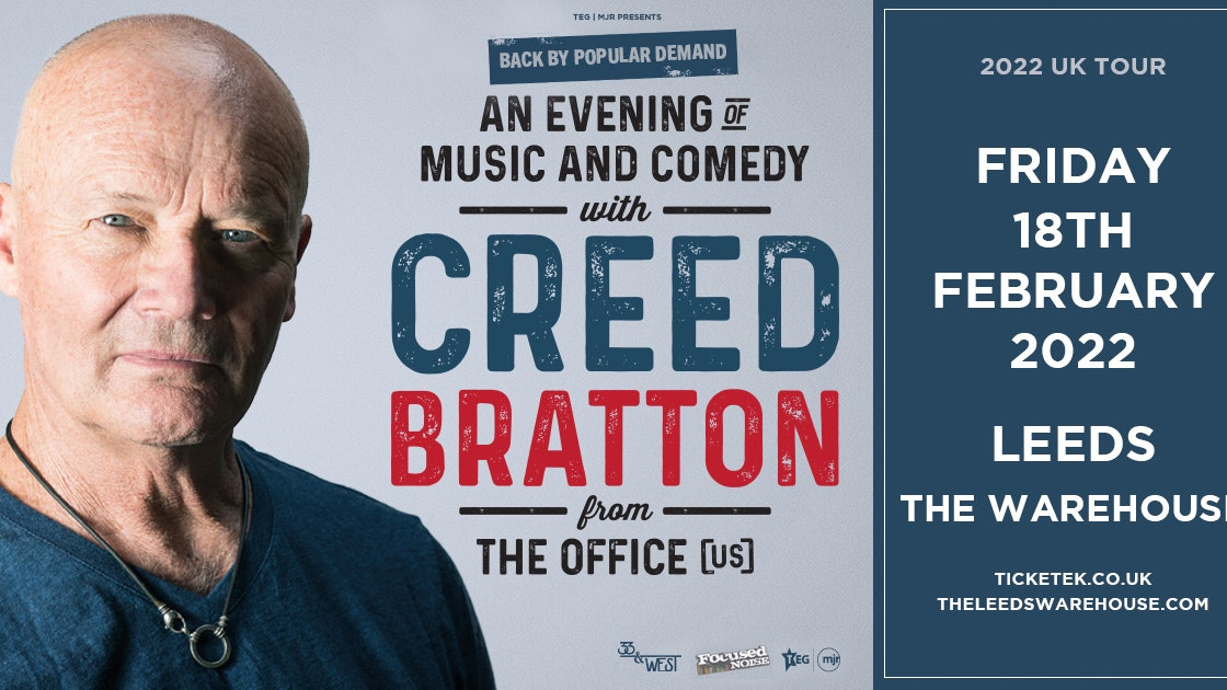 Creed Bratton from The Office US – An Evening of Music and Comedy – Live