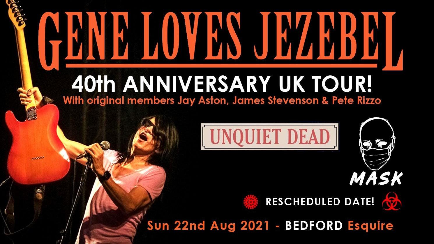 Gene Loves Jezebel – Bedford