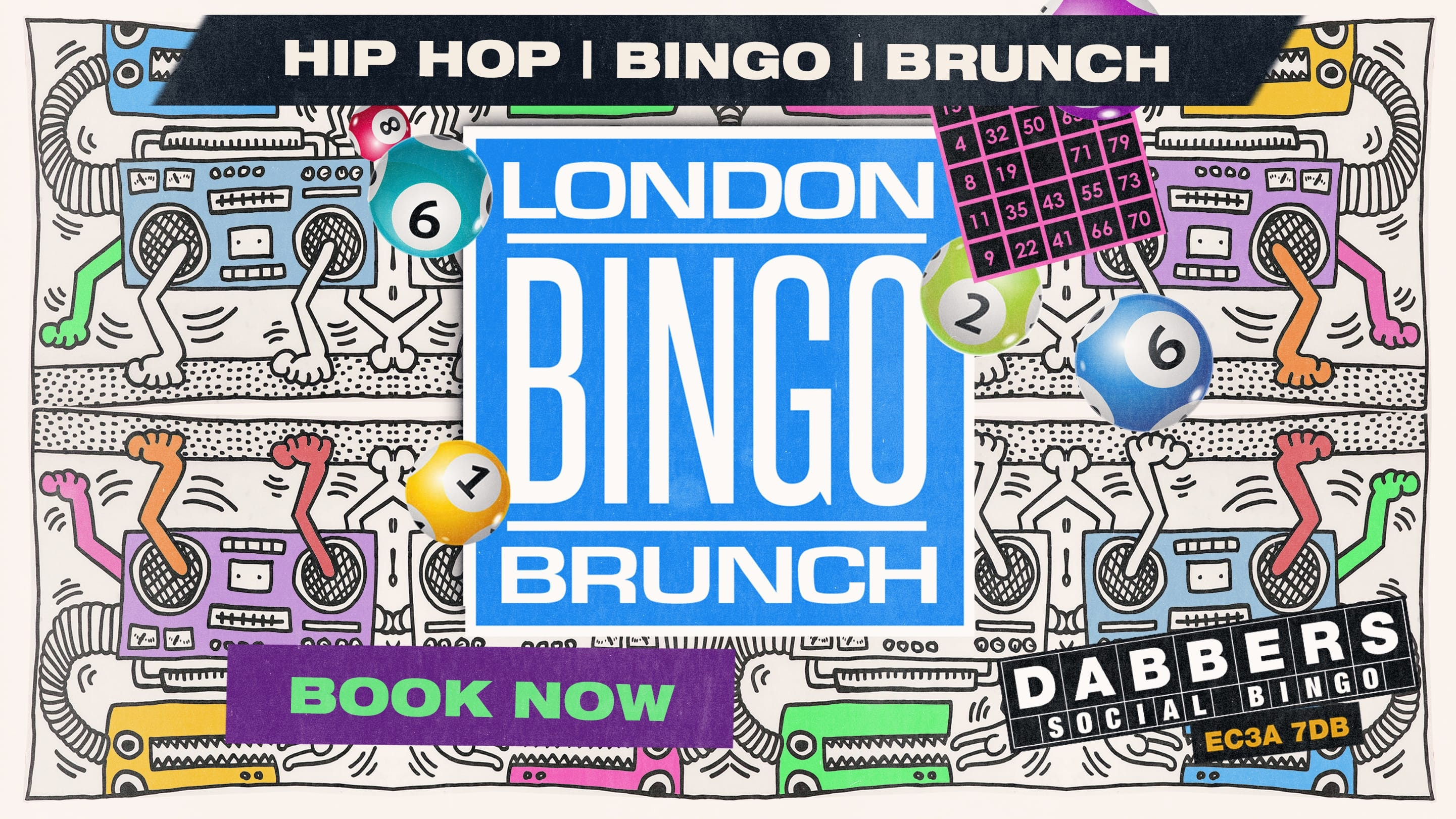 London Bingo Brunch: 4th July All American Hip Hip Relaunch Party