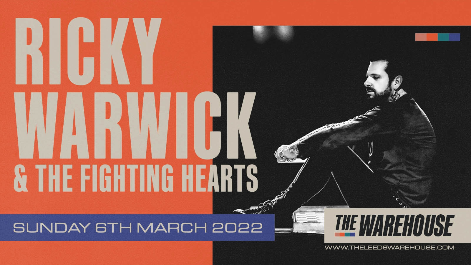 Ricky Warwick & The Fighting Hearts + Special Guests – Live