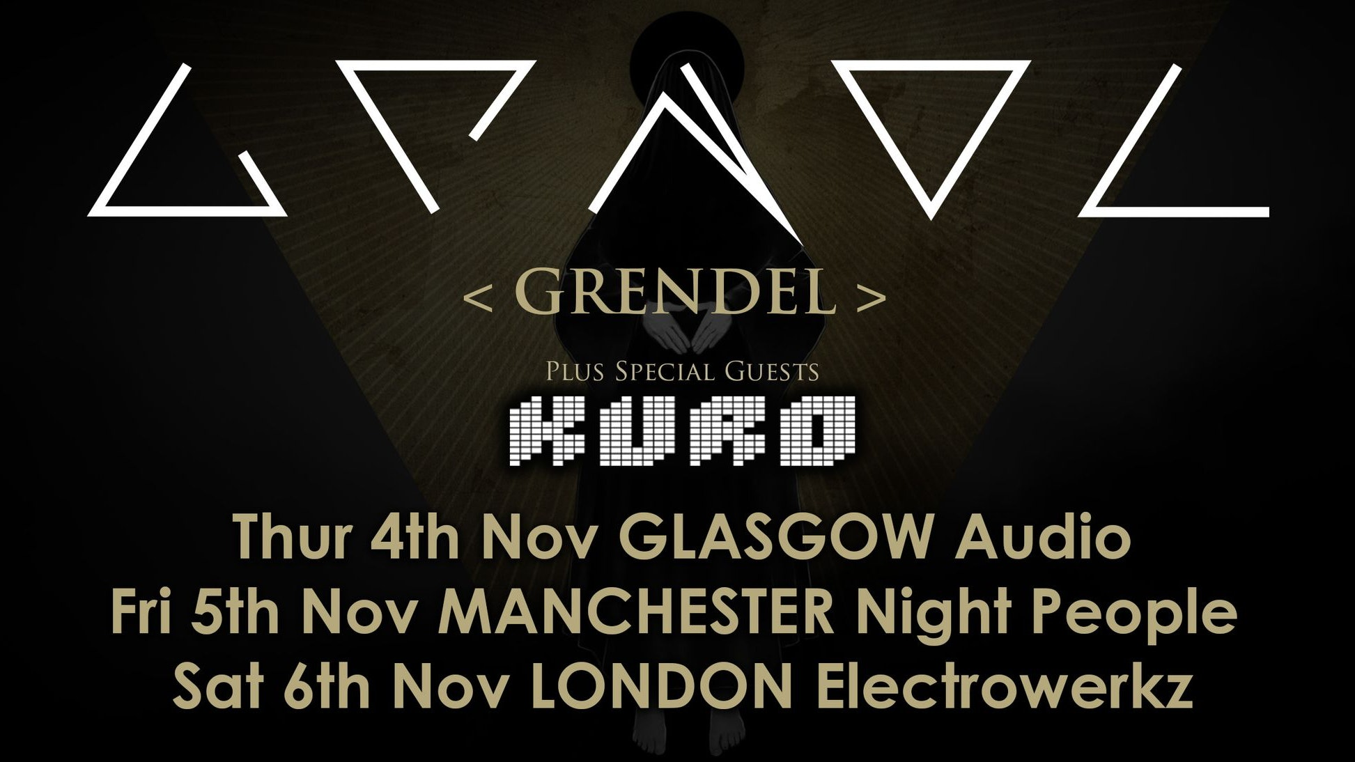 GRENDEL  Live in Glasgow Audio +  Kuro