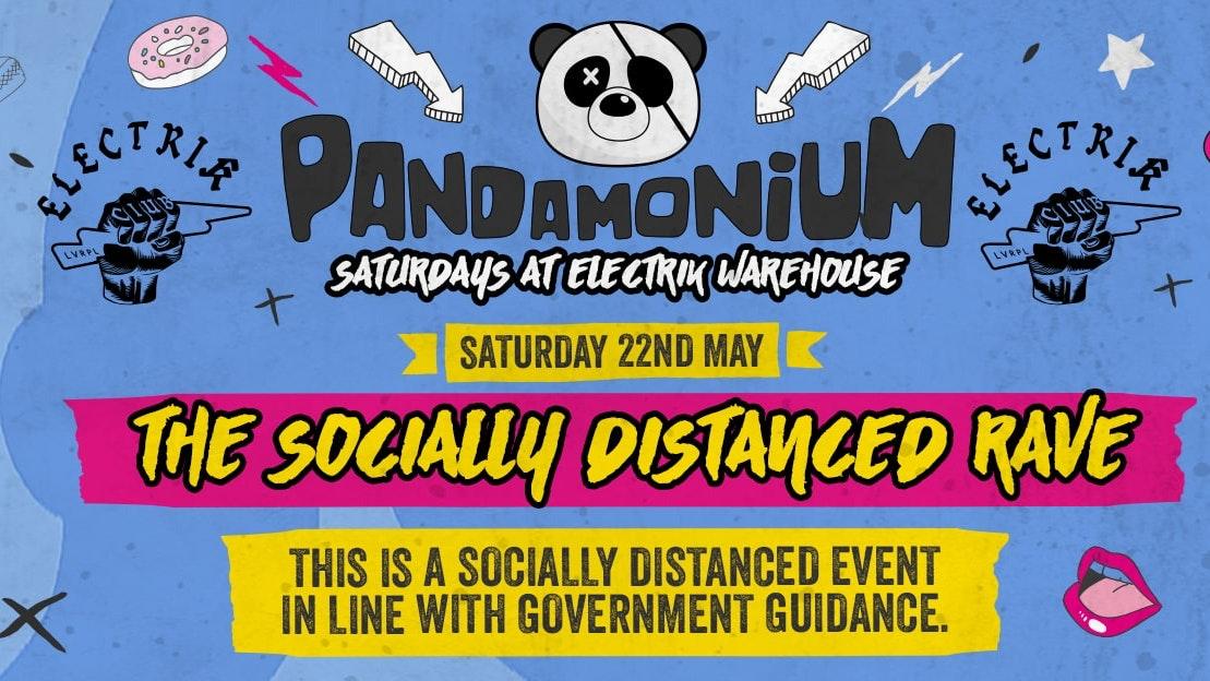 Pandamonium Saturdays Socially Distant Reopening!