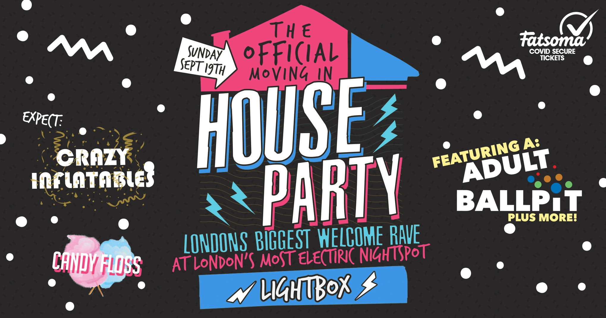 The London Freshers Official Moving In House Party 🎈💊 Live From Lightbox 😲