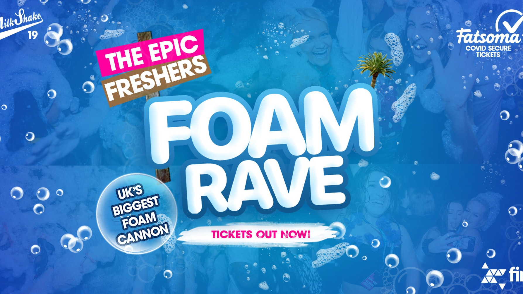 The Epic Freshers Foam Rave 💦 | Live From Fire London