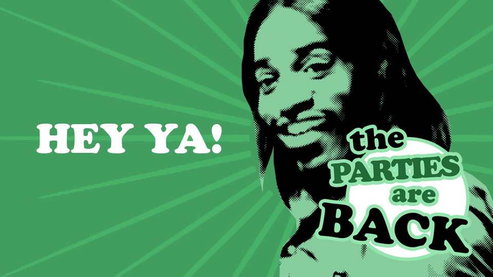 HEY YA! – The Parties are BACK at Moles!