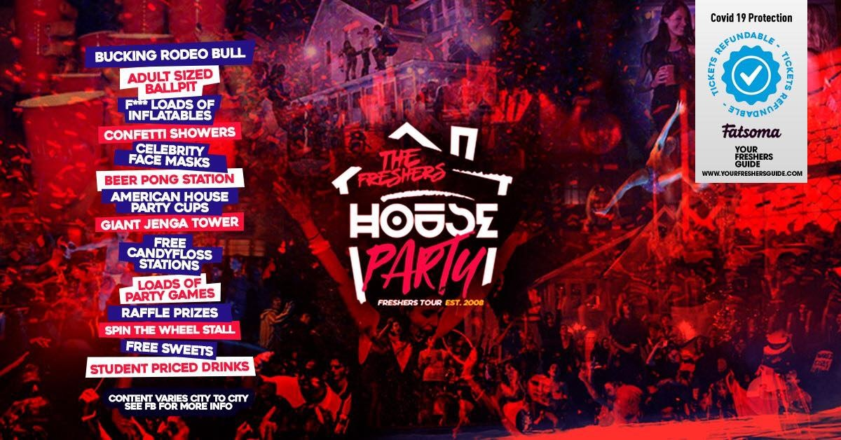 The Freshers House Party | Cardiff Freshers 2021 – Returners Tickets