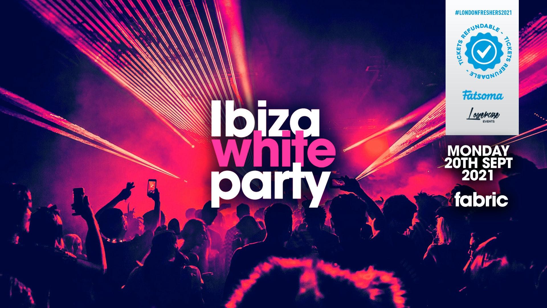 THE 2021 FRESHERS IBIZA WHITE PARTY // FRESHERS WEEK 1 DAY 2