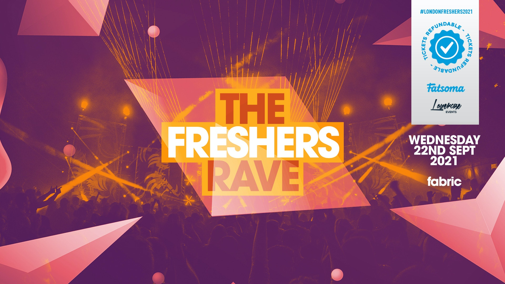 THE 2021 FRESHERS RAVE AT FABRIC! // FRESHERS WEEK 1 DAY 4