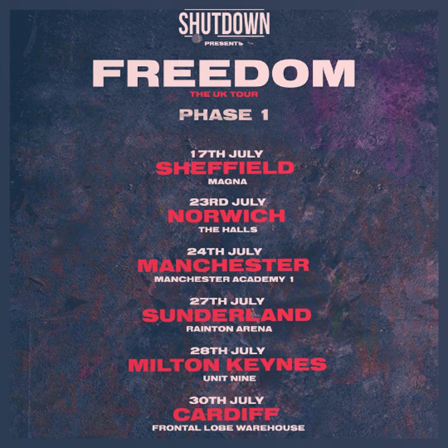 Shutdown – Freedom Tour – Sunderland