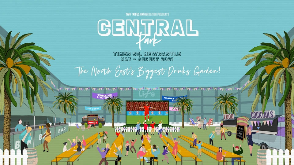 CENTRAL PARK NEWCASTLE – ALL MAY TICKETS NOW ON SALE!