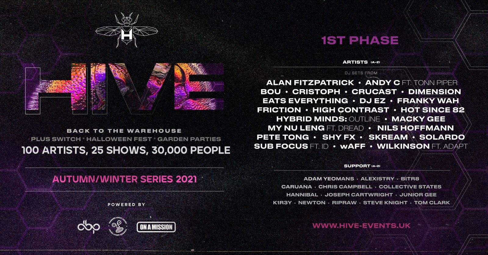 HIVE Phase 1 | On sale tomorrow 10am | Sign up to pre-sale