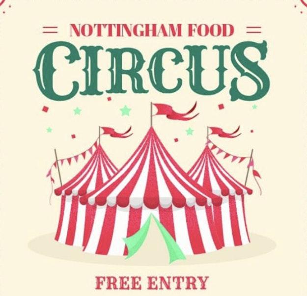 Nottingham Food Circus 🎪