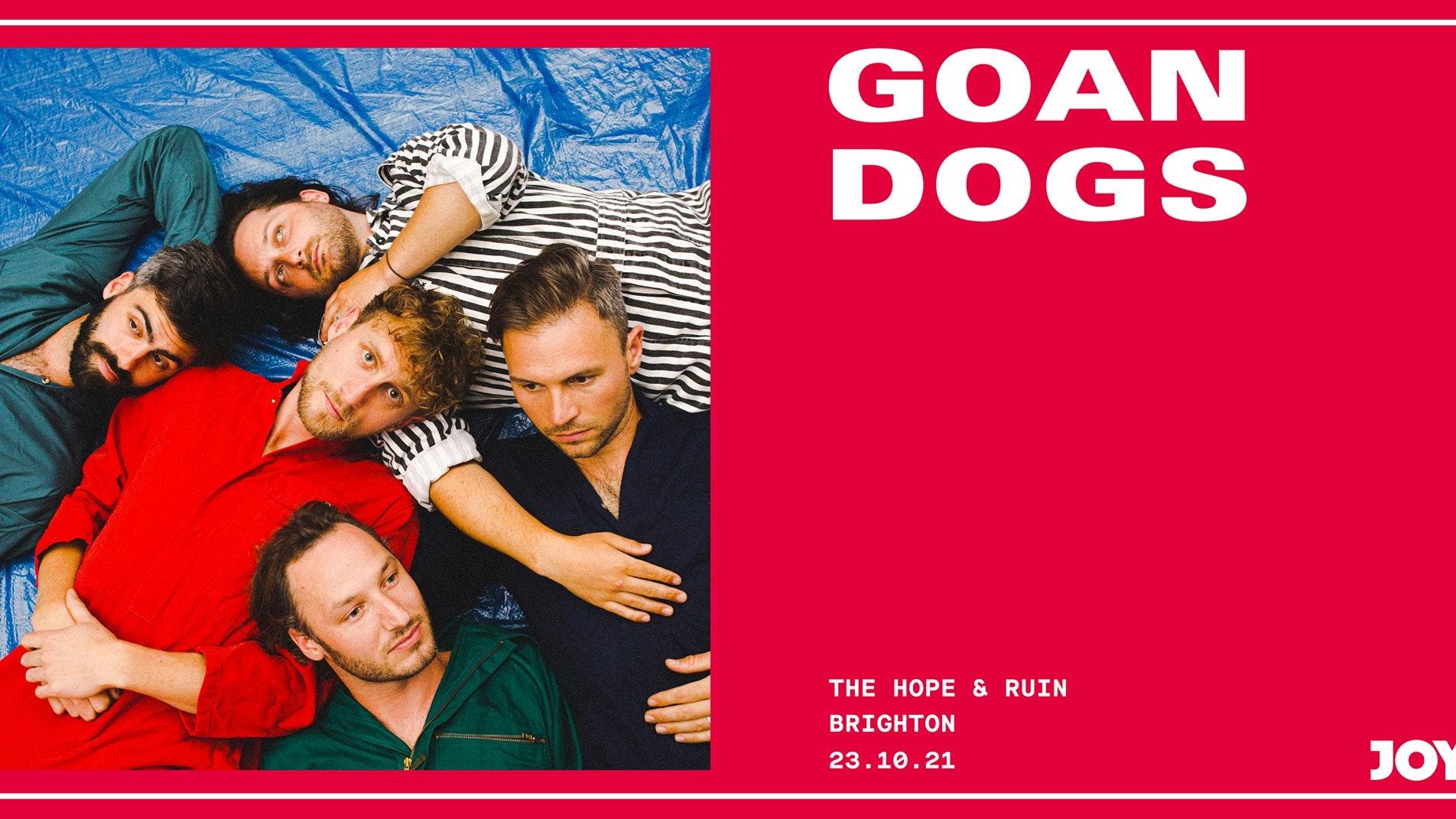 Goan Dogs + support
