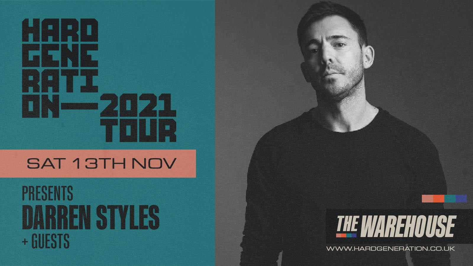Hard Generation 2021 Tour presents Darren Styles – Club