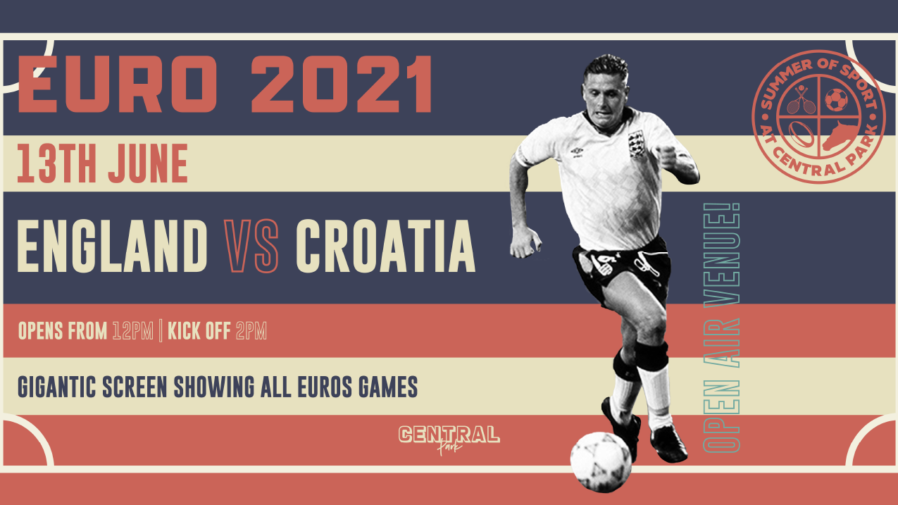 England vs Croatia – Sunday 13th June – Euro 2021
