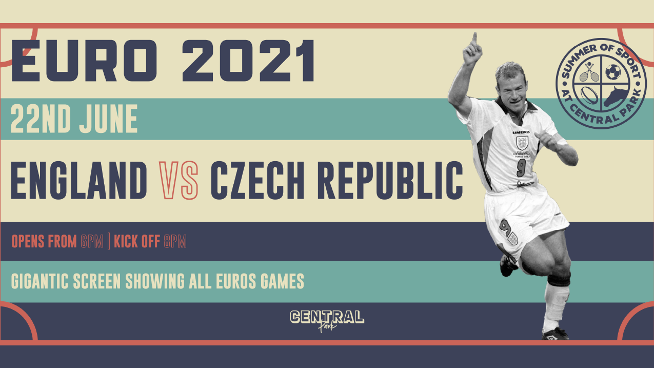England vs Czech Republic  – Tuesday 22nd June – Euro 2021