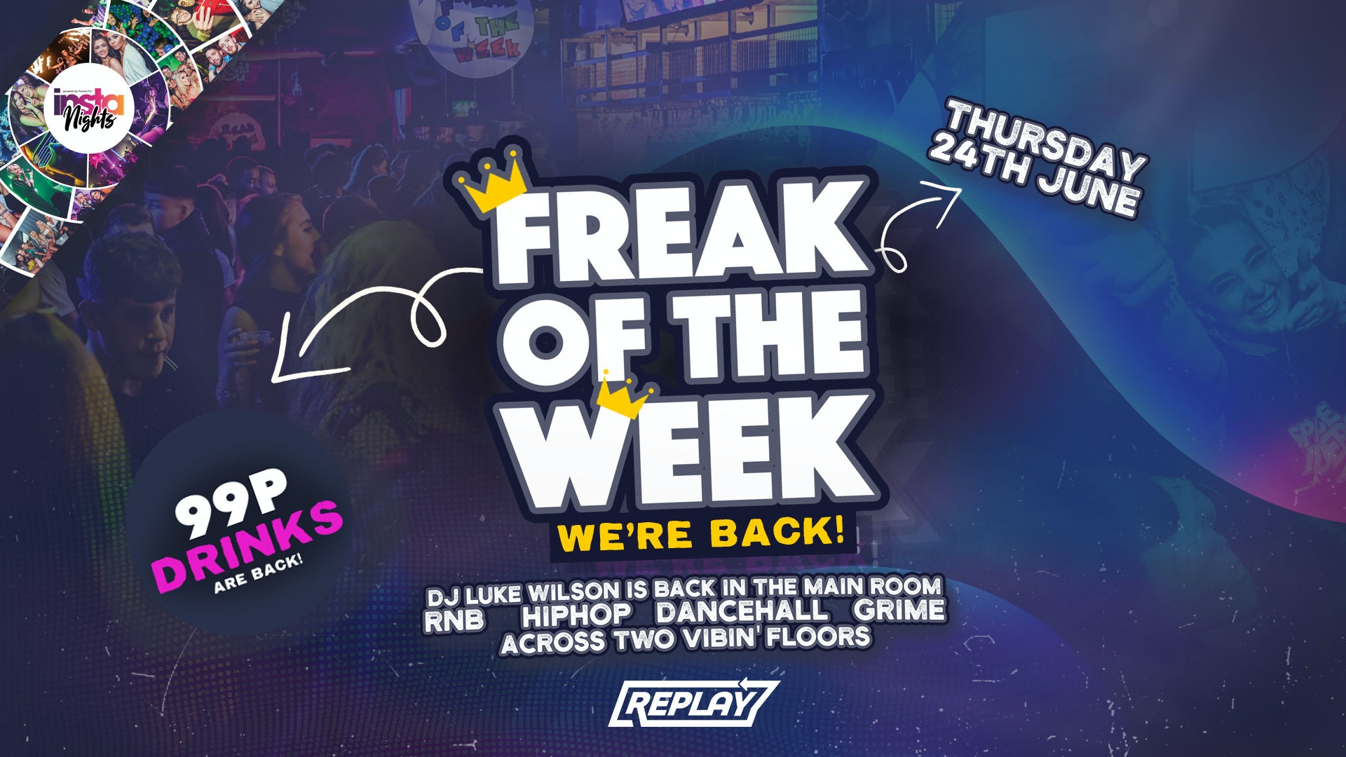 Freak Of The Week *Its BACK* Thursday 22nd July 2021