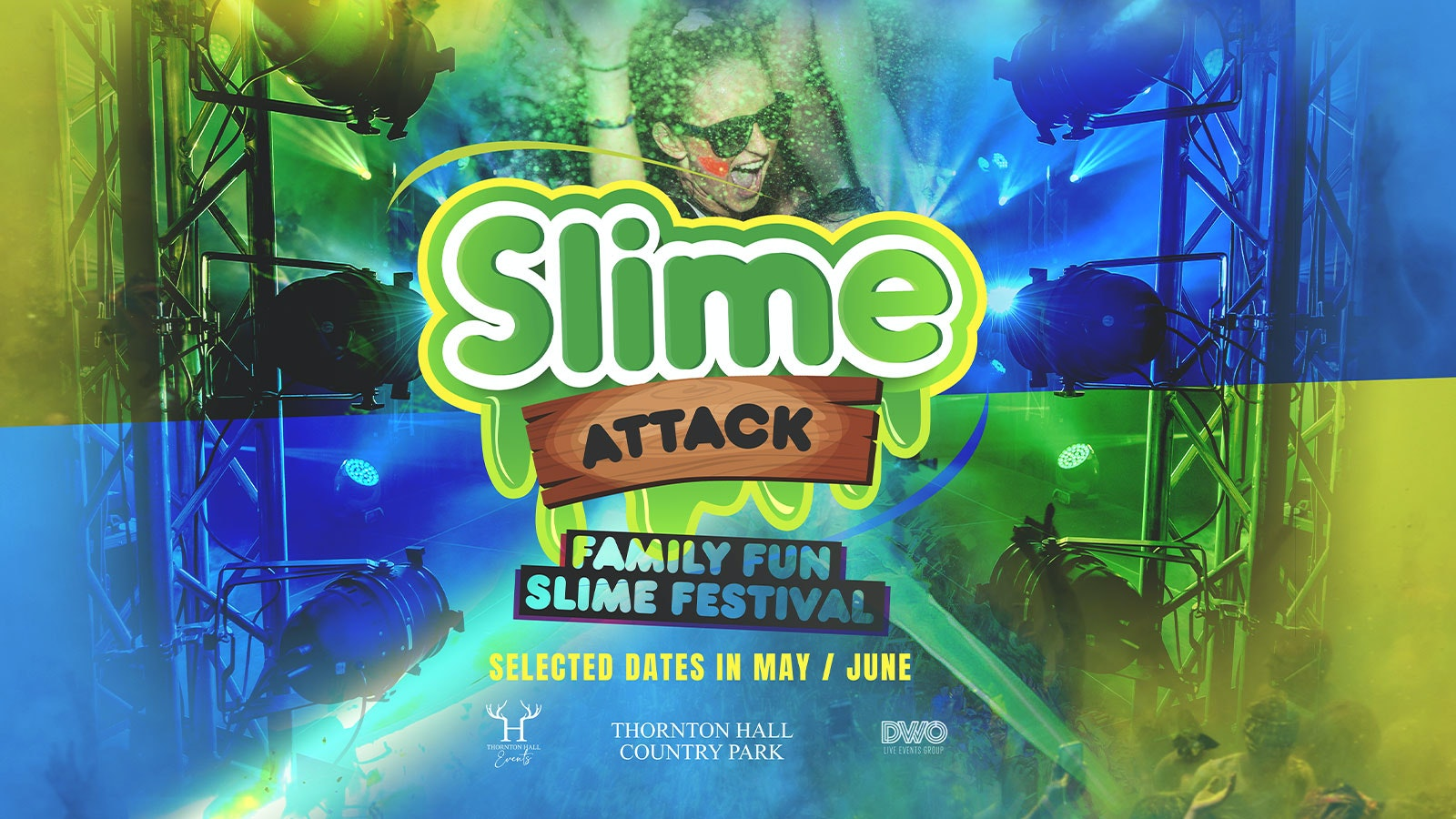 Slime Attack – The Slime Festival Party – 4th July – 3pm