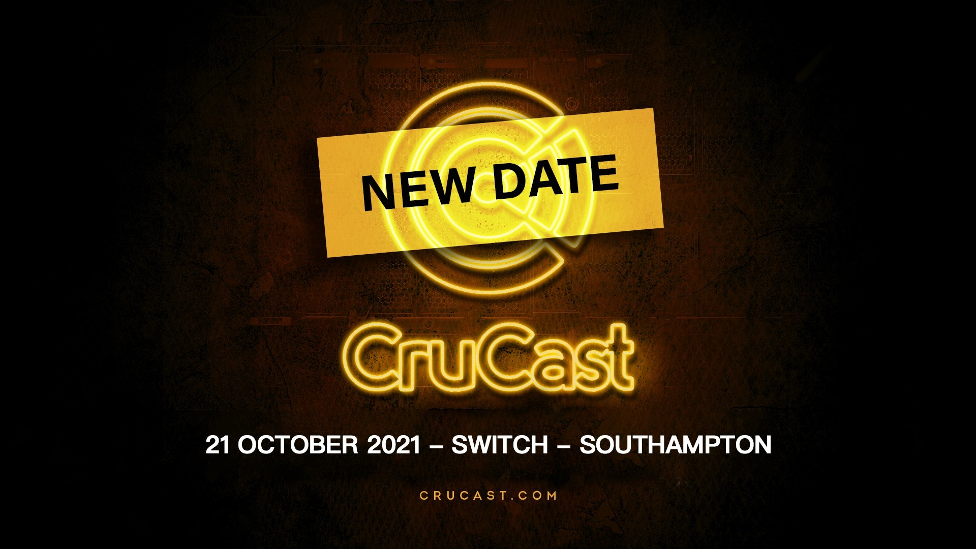 CruCast Southampton – NEW DATE