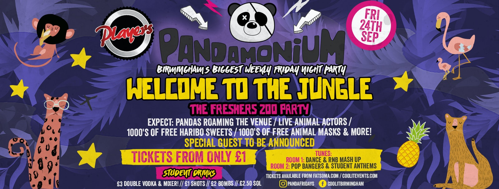 Pandamonium Freshers Special : Welcome To The Jungle Part 2