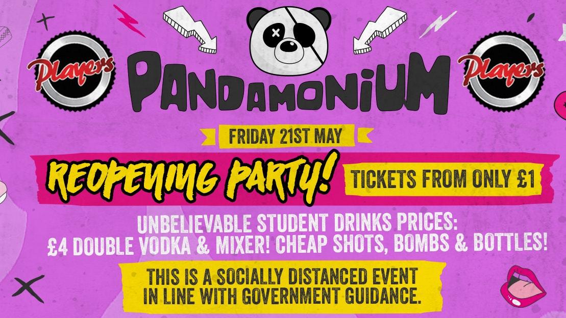 Pandamonium Fridays – The Return