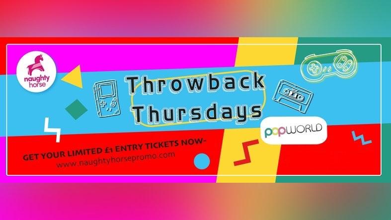 Throwback Thursdays – Return to the Dancefloor – POPWORLD!