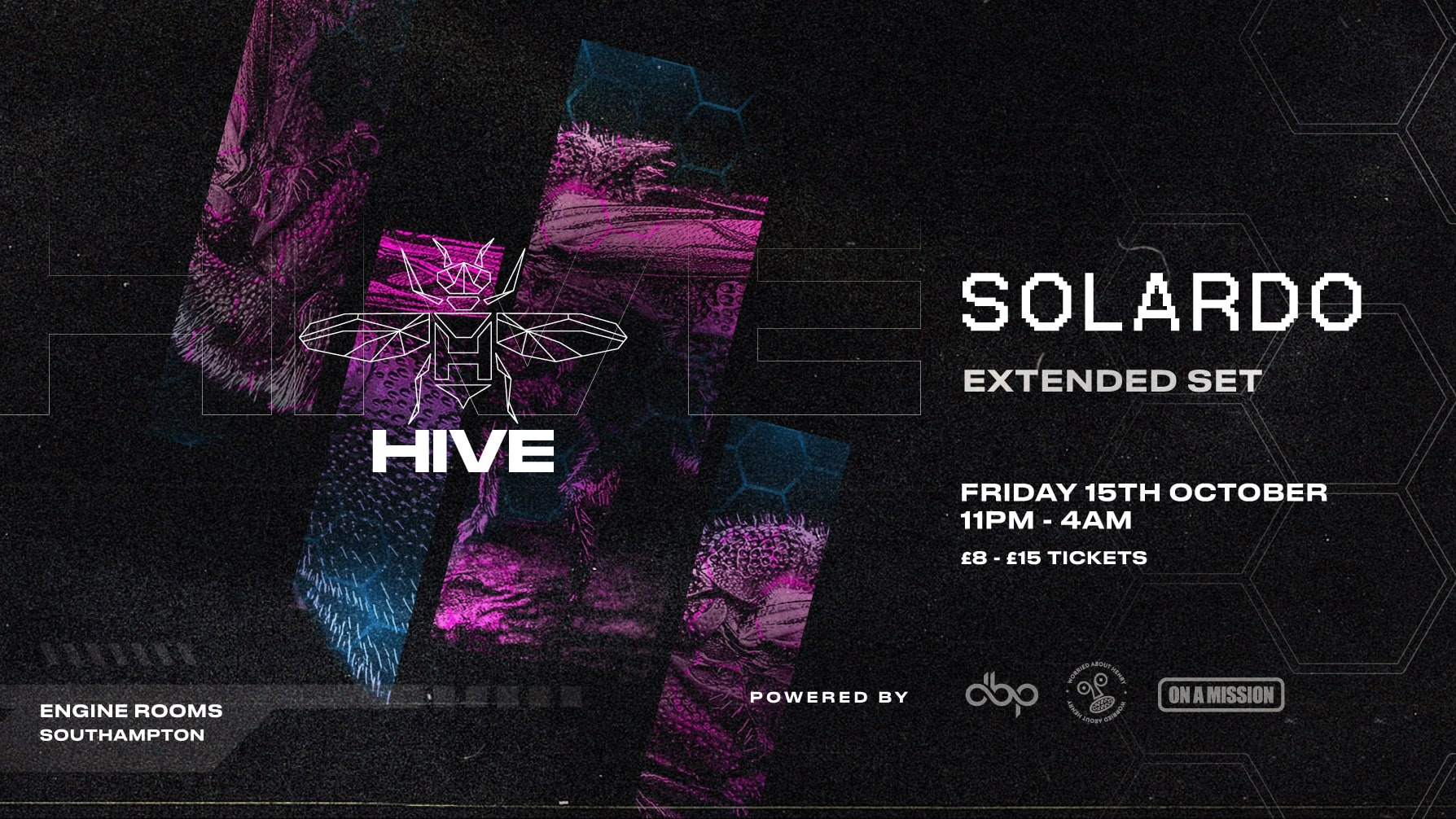Friday 15th Oct: Hive presents: Solardo (Extended Set+ + guests