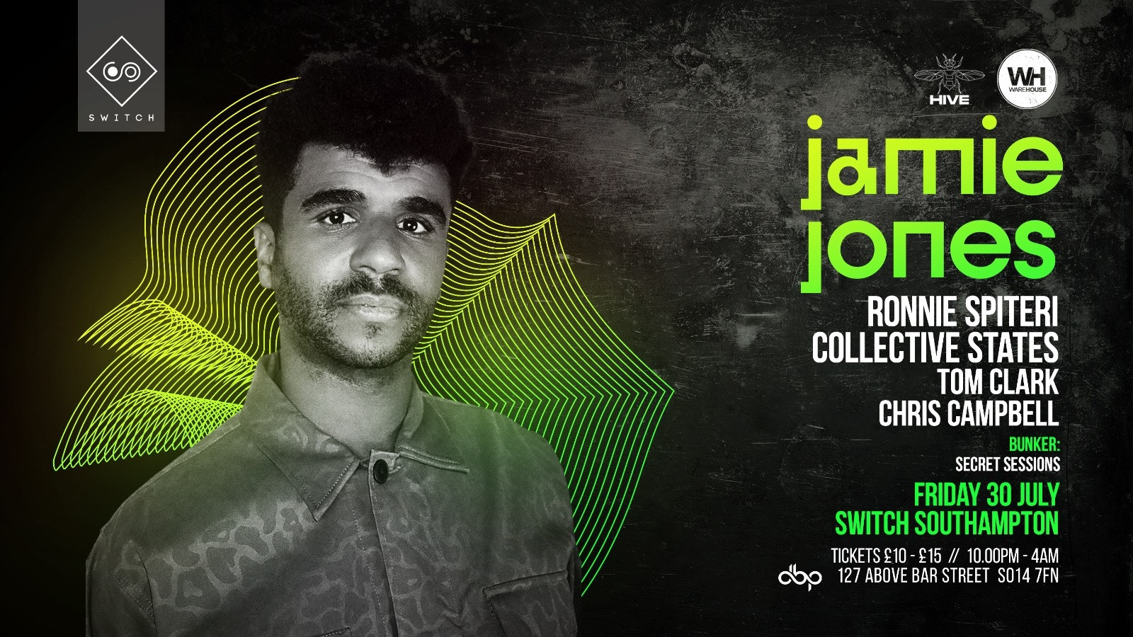 Jamie Jones • Friday 30th July – CANCELLED