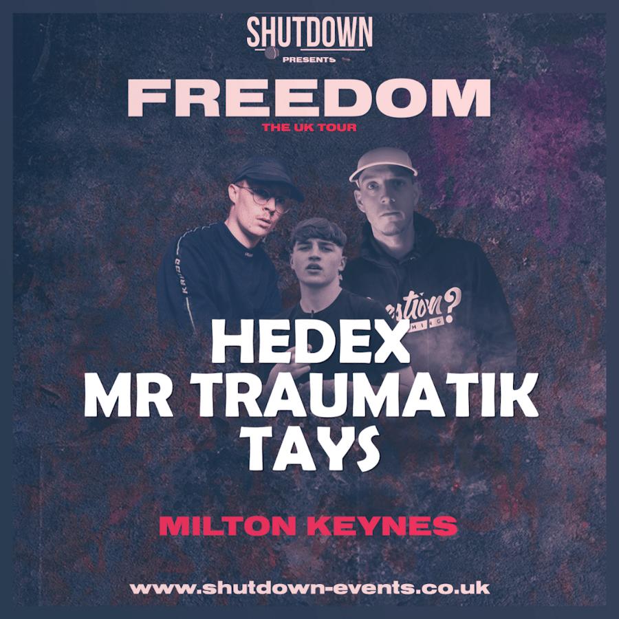 Shutdown – Freedom Tour – Milton Keynes