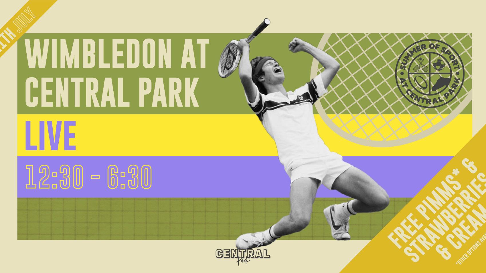 Wimbledon 2021 – Live at Central Park